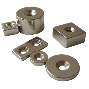 Magnets With CSK Hole