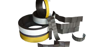 Flexible Magnet Strip, Pre-Cut Rolls