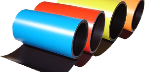 Magnetic Rolls with Color Vinyl